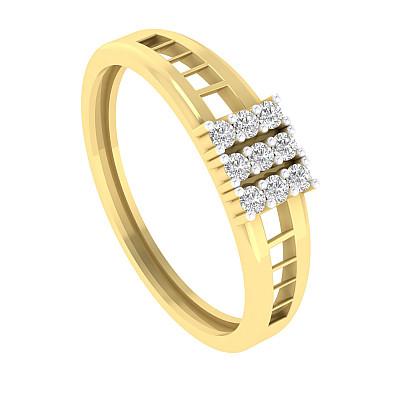 Nine Diamond ring